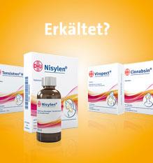 DHU meine Homöopathie® Erkältungsprodukte